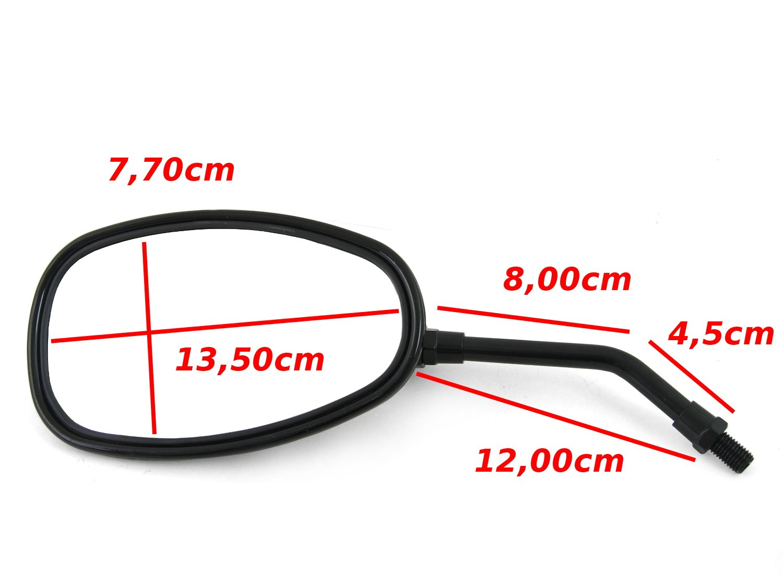 CB 1 2x Spiegel Hond-a CM 400 T XLV 750 R/ückspiegel Set CB 450 S