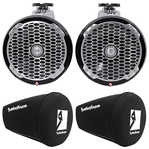 Package: Pair of Rockford Fosgate PM282W-B 8