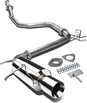 DNA Motoring CBE-VWGOLF99 CBEVWGOLF99 Stainless Steel Catback Exhaust System