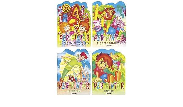 CLASSICS PER PINTAR 4 TIT.: Equipo Susaeta: 9788430558988: Amazon.com: Books