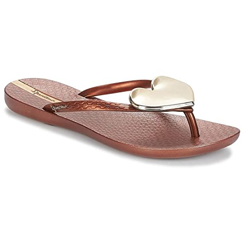 Ipanema 82120 Doré - Chaussures Tongs Femme