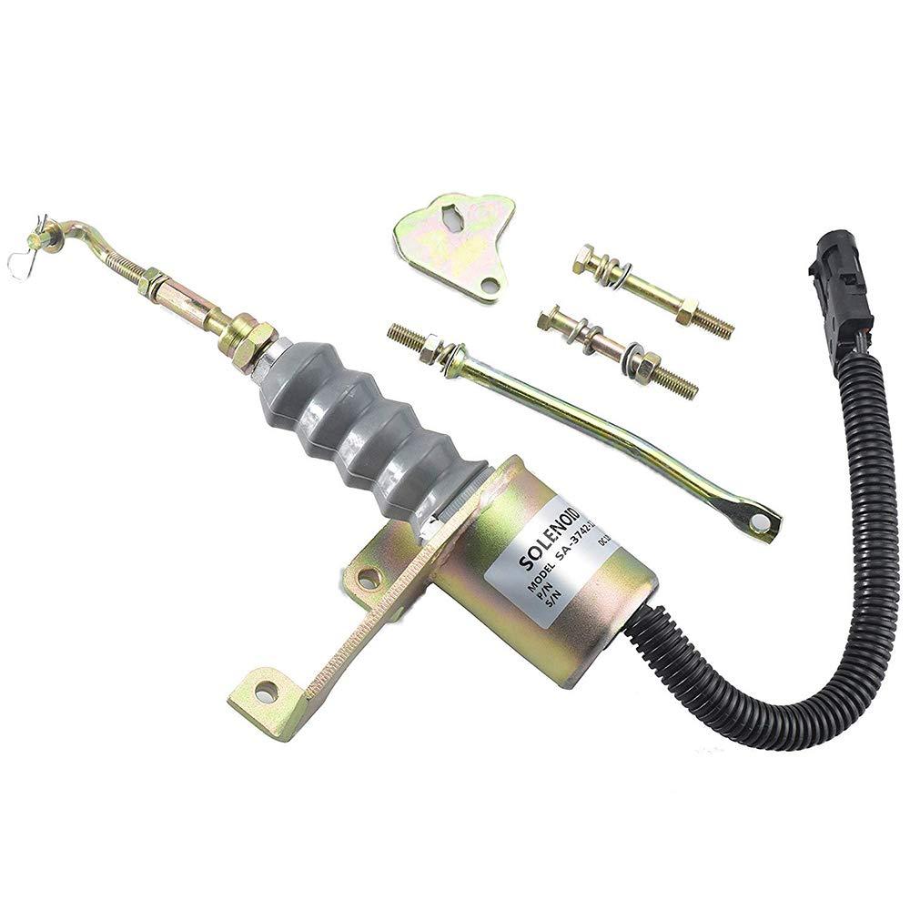 Stop Solenoid 3974947 SA-3742-12 12V for Cummins 6BT Diesel Aftermarket Parts