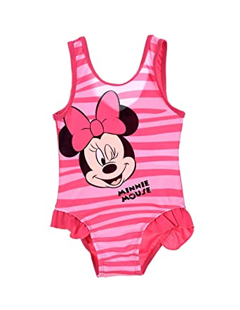 M/ädchen Badeanzug Minnie Mouse Baby