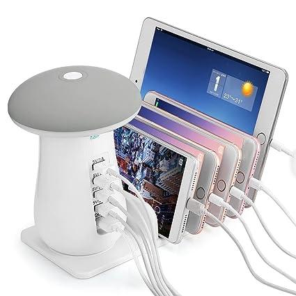 GR Multi Puerto USB Dock QC 3.0 Cargador rápido para ...