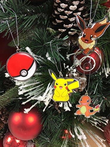 Nintendo Pokemon Christmas Ornaments