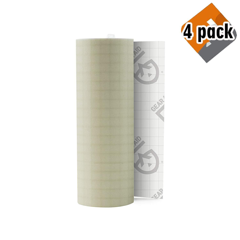 Gear Aid Tenacious Tape Repair Tape for Fabric and Vinyl, 3'' x 20'' (4 Pack)