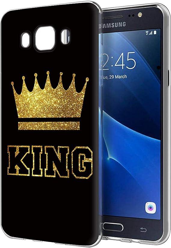 Yoedge Funda Samsung Galaxy J7 2016, Silicona Ultra Slim Cárcasa ...