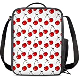52d8e1718a6e Amazon.com: Portable Insulated Lunch Bags, SUNEO Canvas Thermal Food ...