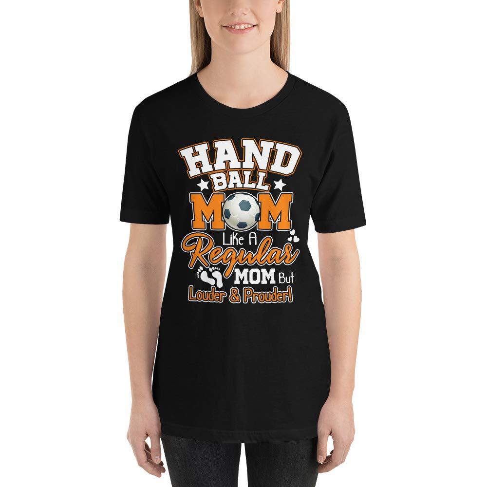 UnicornPixel Handball Mom Personalized Gift Shirt Handball Mom Shirt ~Handball l Mom Shirts ~ Soccer Mom Shirts