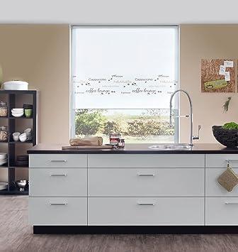 Amazon.de: Kettenzugrollo Seitenzugrollo Fenster Rollo gemustert ...