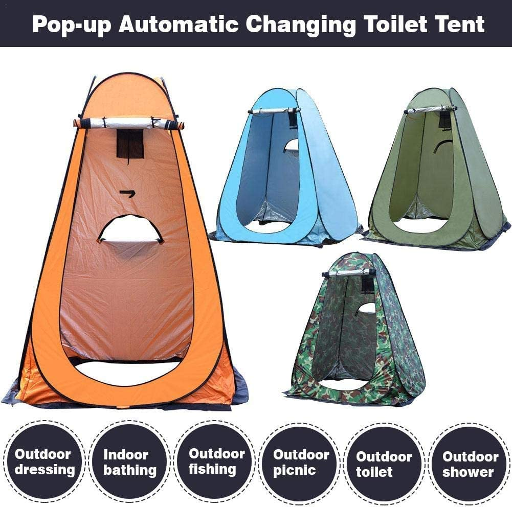 Akaly Premium Set Up Tent Outdoor Camping Toilet Douche Instant Privacy Room Tent ORANJE