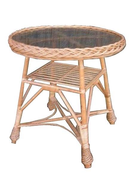 Tavoli In Vimini Da Giardino.Pp Tavolo Tavolino Da Caffe In Vimini Salice Tavolo Da Giardino