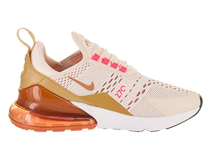 Amazon.com | Nike Air Max 270 Womens (6.5 M US, Guava Ice/Terra Blush) | Fashion Sneakers