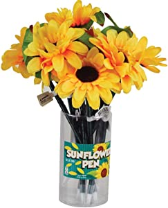 Raymond Geddes Sunflower Pen (Pack of 12)