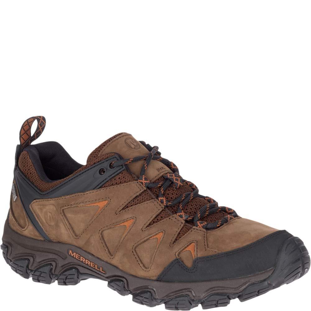 Merrell Men's Pulsate 2 LTR Waterproof Hiking Shoe, Dark Earth, 08.5 M US by Merrell