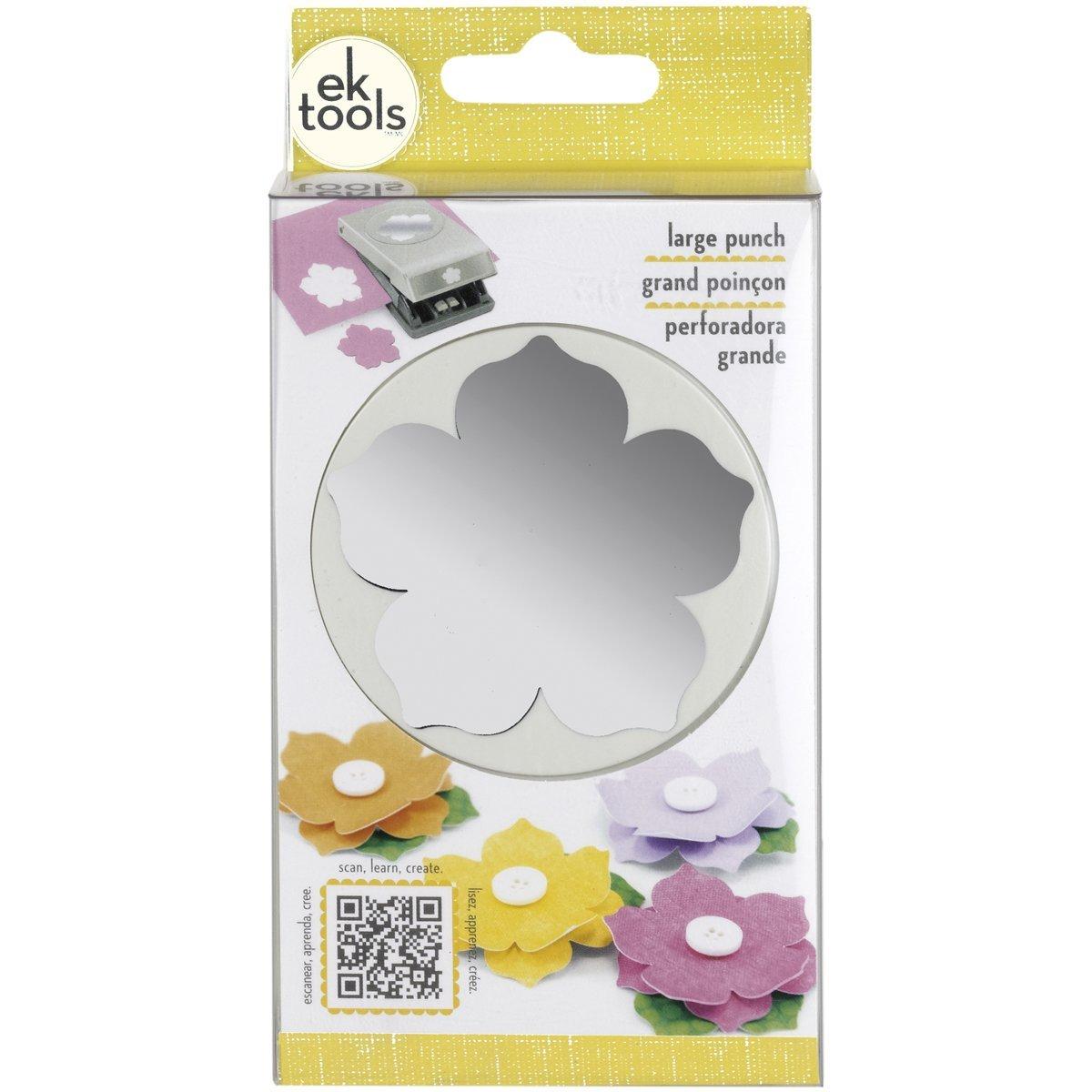 Ek Tools Flower Paper Punch Large Petunia Ebay