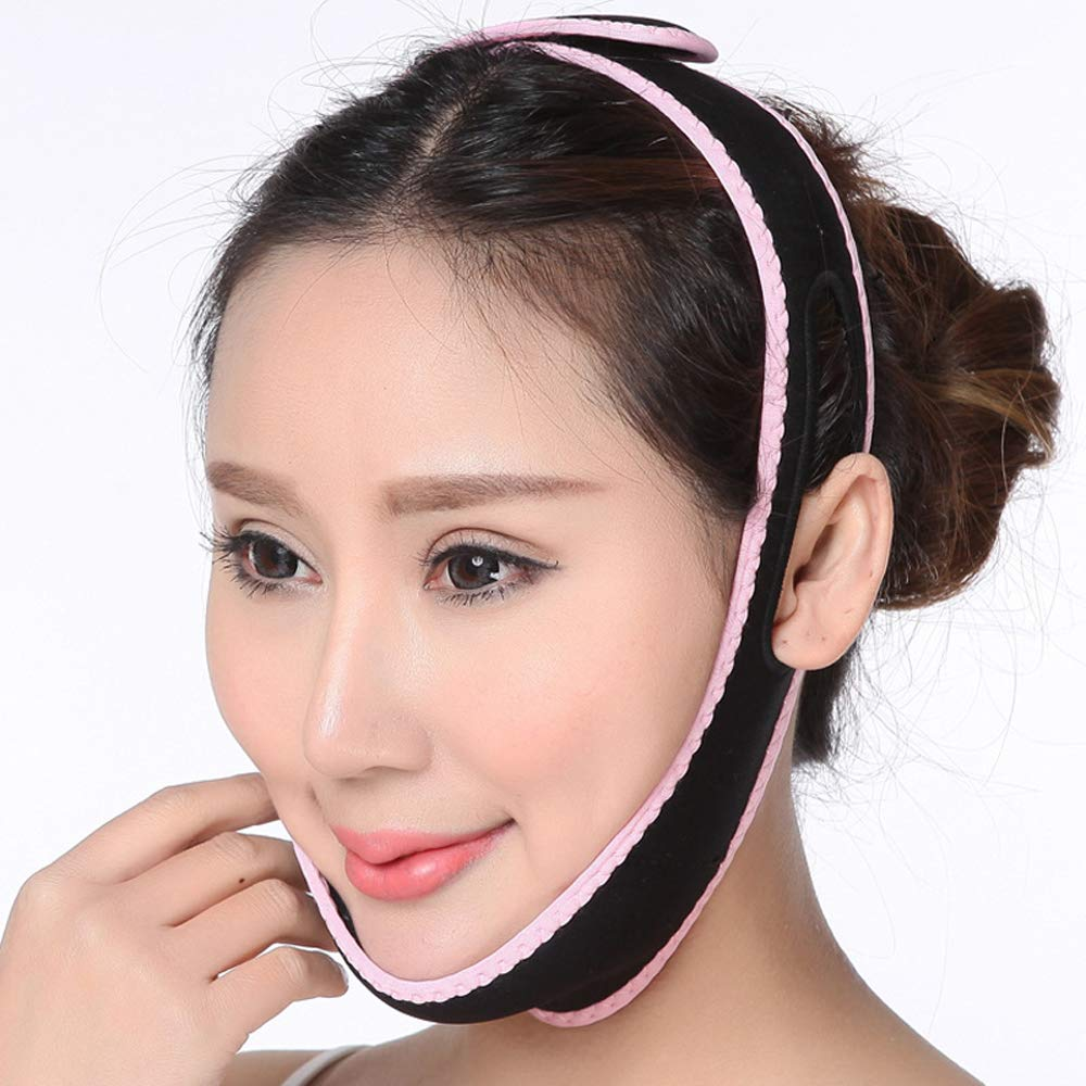 Facial Face-Lifting Instrument, V-Face, Face-Lifting Bandage, Half-Package Mask, Lifting And Tightening, Unisex Giow