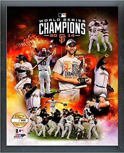 "San Francisco Giants 2014 World Series Champions Limited Edition Photo (Size: 17"" x 21"") Framed"