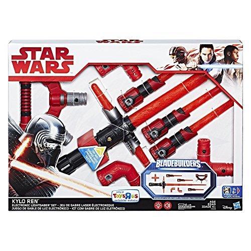 Star Wars Kylo Ren Exclusive Bladebuilders Electronic Lightsaber Set