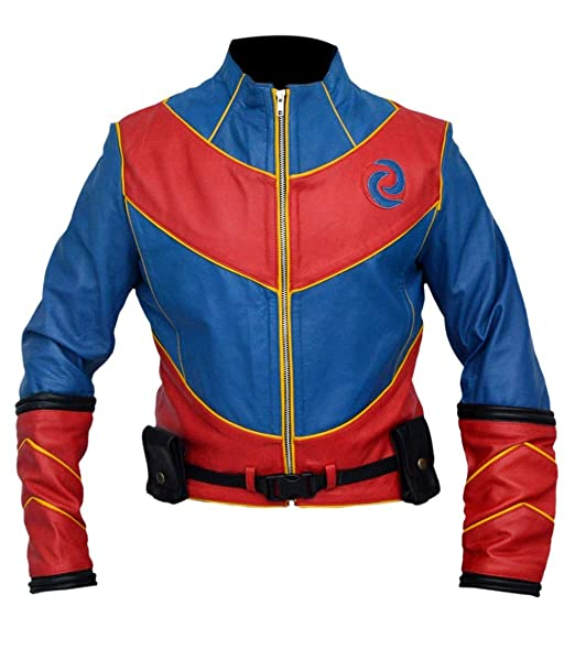 Henry Danger TV Series Captain Man Leather Jacket: Amazon ca