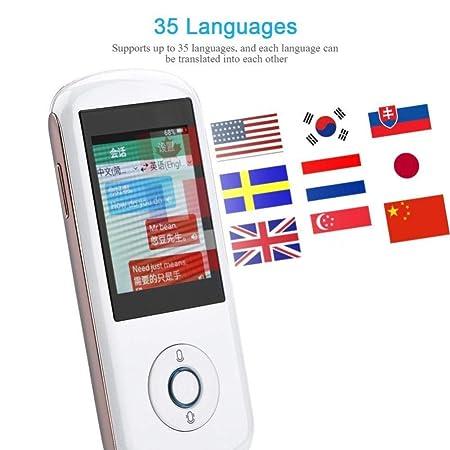 LBYMYB Dispositivo de traducción Pantalla táctil de 2,4 ...