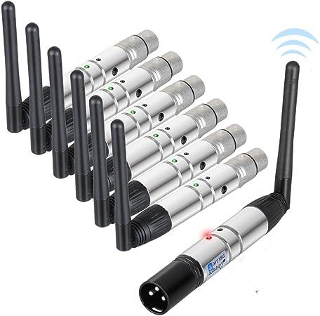 Donner DMX512 2.4G - Antena emisora/receptora inalámbrica ...