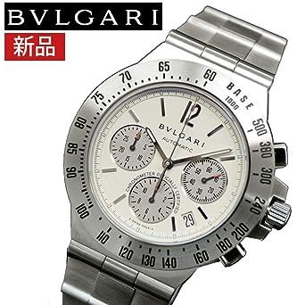 9b63a759b34a 【新品】BVLGARI ブルガリ CH40WSSDTA(8) ディアゴノ プロフェッショナル テラ 時計 腕時計 メンズ 自動