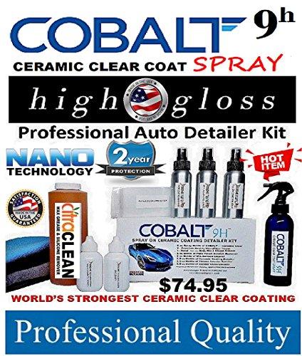 Xtreme Nano 9H COBALT Ceramic Spray Coating Paint Sealant