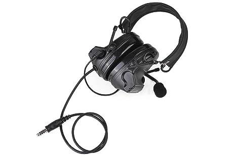 Caza móvil tiro táctico auriculares de aviación orejeras ...