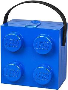 Room Copenhagen Lego 40240602 Lunchbox with Handle, Bright Blue