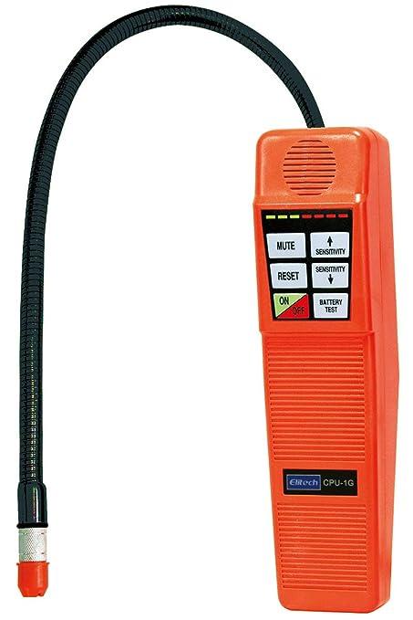 Amazon.com: Elitech CPU-1G Refrigerant Gas Leak Detector Halogen Leak Detector Freon HVAC CFCs HCFCs HFCs 3 Replaceable Sensors: Automotive