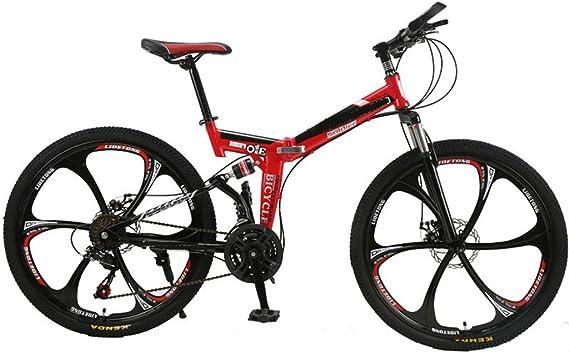 PHY Overdrive Cola Dura Bicicleta de montaña Bicicleta Plegable de 26