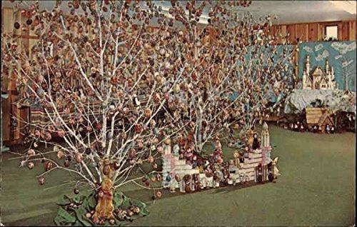 Annual Easter Egg Hunt Schoharie, New York Original Vintage Postcard