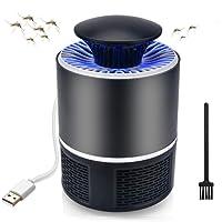 Anti Moustique Killer Moustique Tueur Lampe Intelligente alimentée par USB Technique Physique avec brosses de Nettoyage Bug Zapper