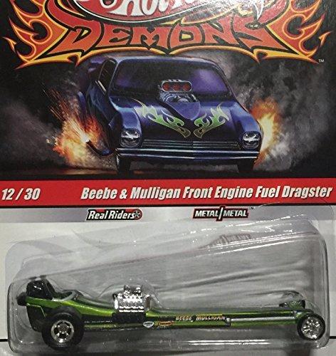 Japan Import HOT WHEELS Hot Wheels DEMONS Demons drag car beebe & mulligan front engine fuel dragster Green # (Dragster Front Wheels)