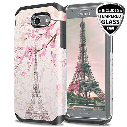 Amazon.com: TJS - Carcasa para Samsung Galaxy J3 Emerge/J3 ...