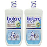2 Pack Biotene Oral Rinse Mouthwash for Dry Mouth
