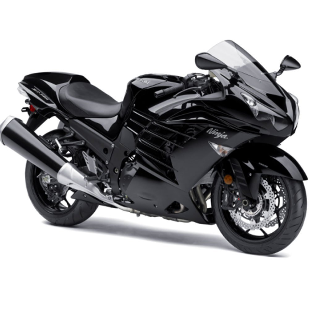 Amazon.com: In Stock! Moto Onfire Motorcycle Glossy Black ...
