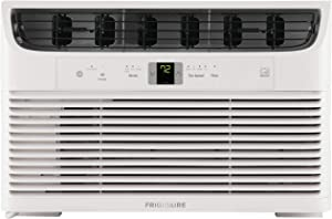 FRIGIDAIRE FHWW083WB1 8,000 BTU Connected Window-Mounted Room Air Conditioner, White