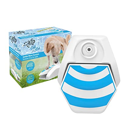 AFP Outdoor Dog Water Sprinkler Easy Activated Fountain Dog Toys
