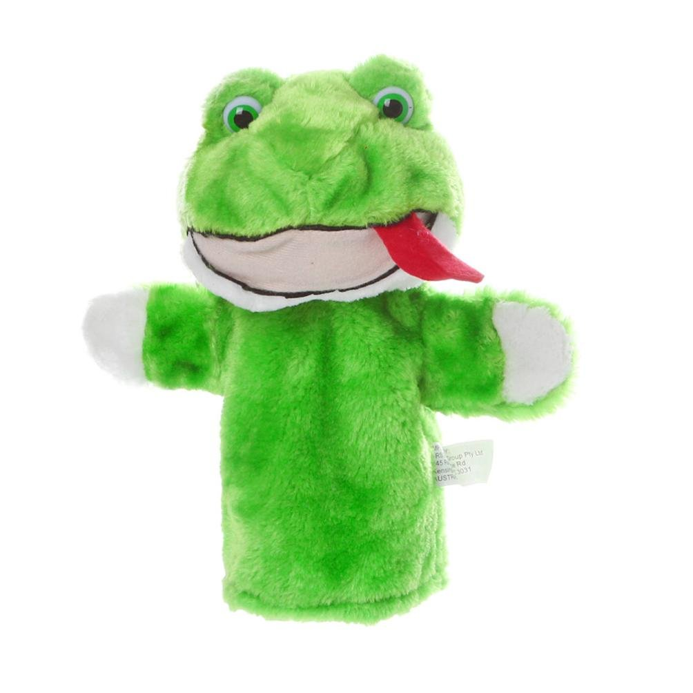 MuSheng TM Cute Cartoon Animal Doll Kids Glove Hand Puppet Soft Plush Toys Story Telling Eduacation Kids Baby Funny Toys (A)