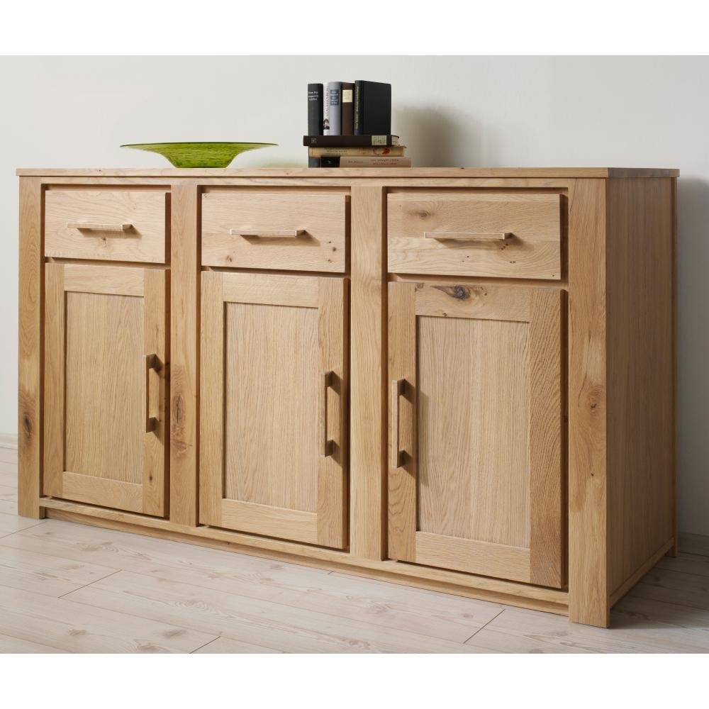 Sideboard Virginia Henke Möbel Wildeiche massiv Holz Eiche