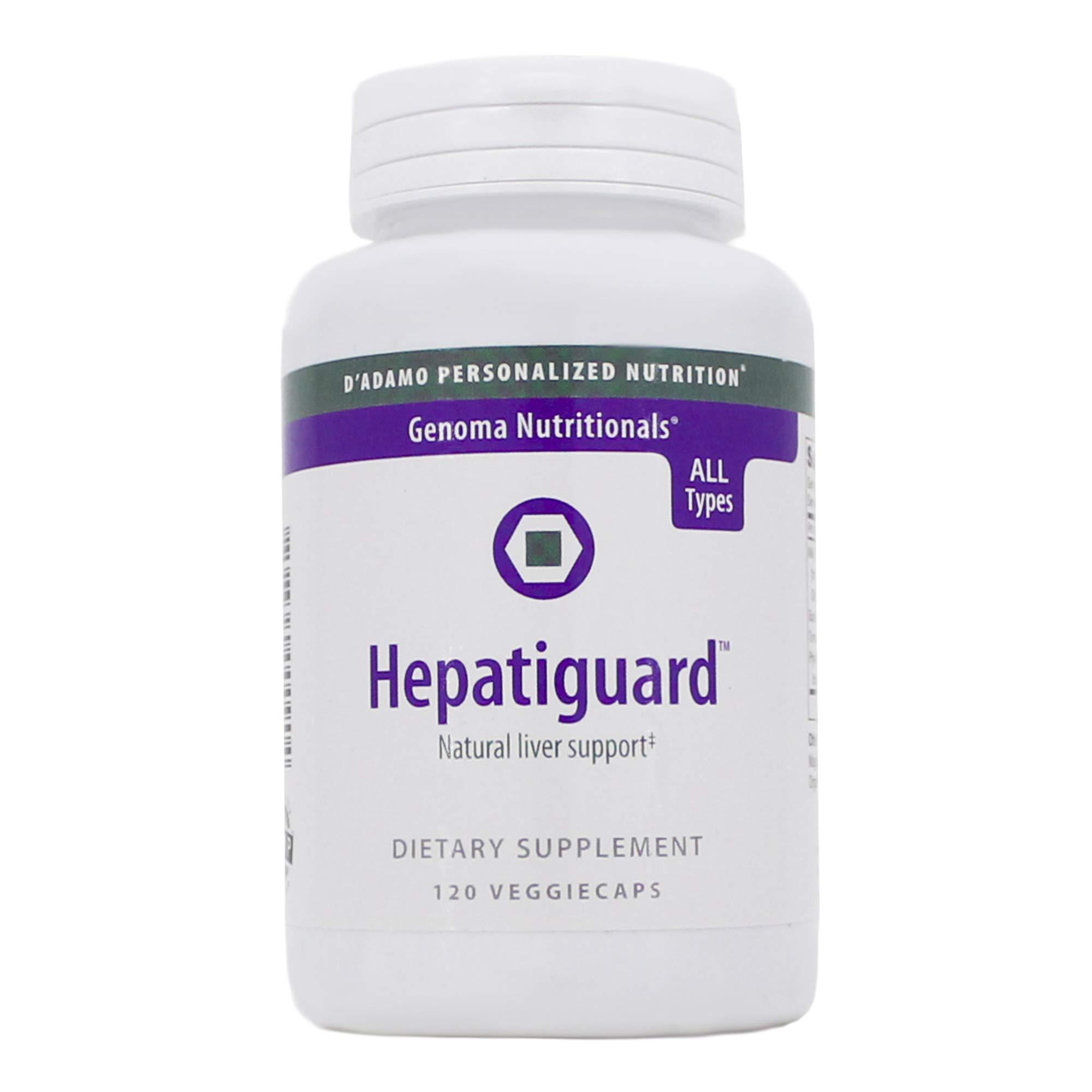 D'Adamo Blood Type Diet Hepatiguard All Types - 120 Capsules
