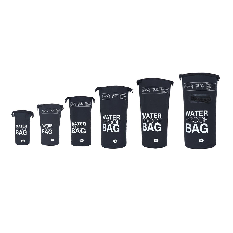 DonDon–Impermeable exterior Dry Bag bolsa saco seco funda protección contra el agua bolsa para objetos de valor en diferentes colores y tamaños Tradict GmbH