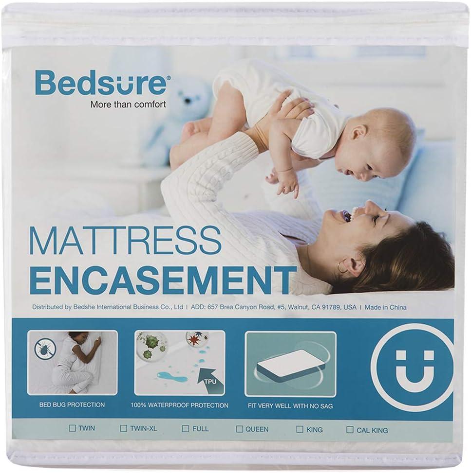 Amazon.com: Bedsure Bed Bug Proof Waterproof Mattress Encasement
