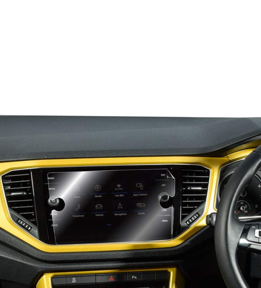 T-ROC 2018 8 Smooth//Self-Healing//Bubble -Free VOLKSWAGEN TIGUAN IPG for Volkswagen TIGUAN T-ROC 2018 8 Navigation Touch Sensitive Screen Protector Invisible Ultra HD Clear Film Anti Scratch Skin Guard