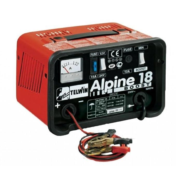 1 opinioni per Carica batterie Telwin Modello ALPINE 18 12-24V con protezione da sovraccarichi