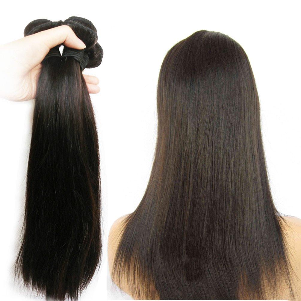 Amazon Jinren Full Head Set Brazilian Virgin Hair Straight