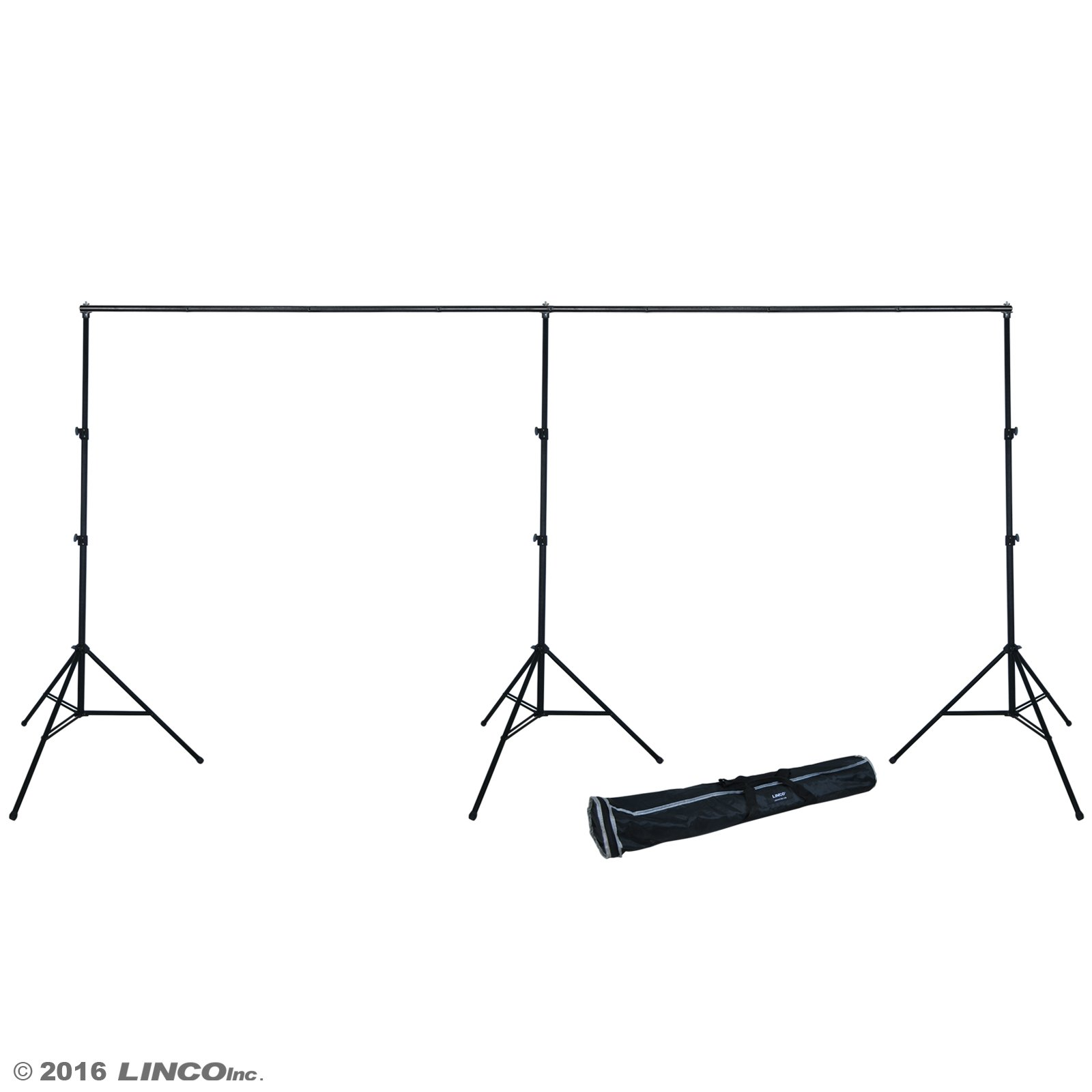 Linco Lincostore 9x20 feet Heavy Duty Photography Backdrop Stand Background Support System Kit 4166