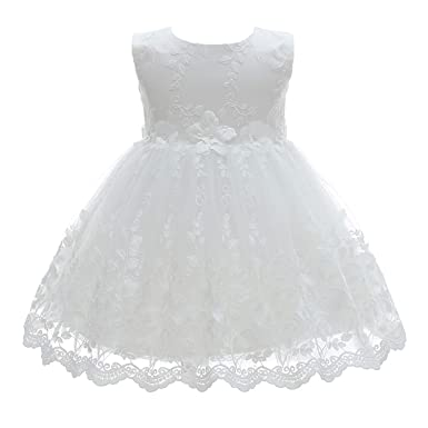 9fd26854bac6 Amazon.com  Silver Mermaid Baby Girl Christening Dress 2 Piece ...